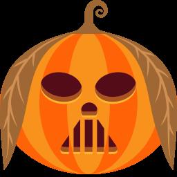 иконка тыква, хэллоуин, vader,