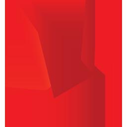 иконки оригами, птица,