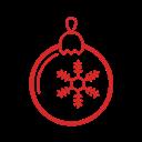 иконки  рождество, новый год, новогодний шар, новогодний шарик, christmas bauble, christmas,