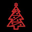 иконки новогодняя елка, новый год, рождество, christmas tree,