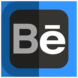 иконка behance,