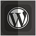 иконка wordpress, вордпресс,