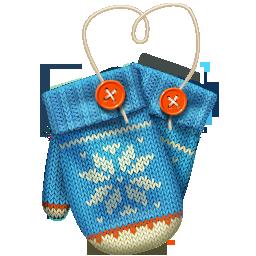иконки варежки, зима, новый год, рождество, mittens,