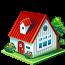 иконки дом, недвижимость, house,
