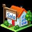 иконки дом, продажа, недвижимость, house, sale,