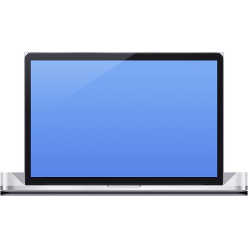 иконка macbook, ноутбук,