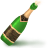 иконка шампанское, алкоголь, новый год, champagne,