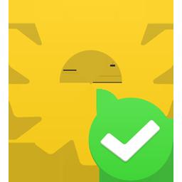 иконка шестеренка, галочка, процесс, process accept,