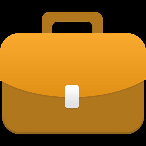 иконка портфель, briefcase,