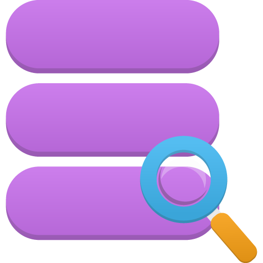 иконка поиск, data search,