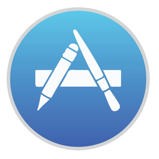 иконка appstore, ios7, app store,