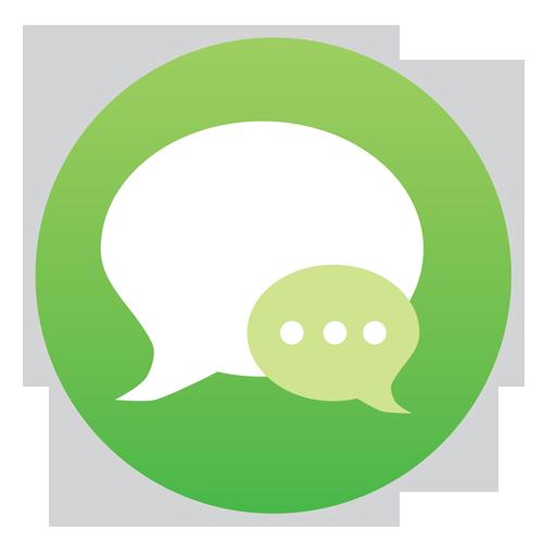 иконка сообщение, общение, ios7, messages,