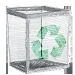 иконки  корзина, recycle,