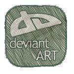 иконки deviant, deviantart,