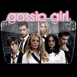 иконки папка, сплетница, folder, gossip girl,