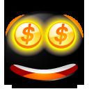 иконки деньги, смайл, смайлик, money,