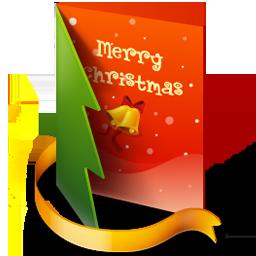 иконки  открытка, папка, новый год, рождество, folder,