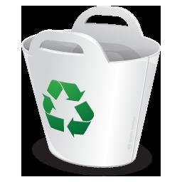 иконки  корзина, утилизация, recycler,