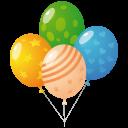 иконки шарики, шарик, balloons,