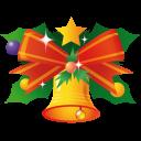 иконки колокольчик, новый год, рождество, bell,