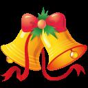 иконки рождественские колокольчики, новый год, рождество, christmas bells,