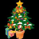 иконки рождественская елка, новый год, рождество, christmas tree,