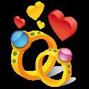 иконки кольца, кольцо, свадьба, любовь, ring hearts,