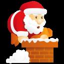 иконки рождество, санта, новый год, santa,