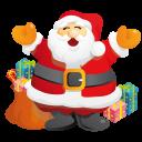 иконки подарки, дед мороз, подарок, санта, новый год, рождество, santa, gifts,