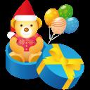 иконки подарок, медведь, мишка, teddy, gift,