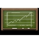 иконки диаграмма, школьная доска, учебная доска, chalkboard, diagram,