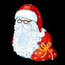 иконки рождество, санта клаус, дед мороз, новый год, santa,