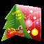 иконки рождественская открытка, новогодняя открытка, новый год, рождество, christmas, card,