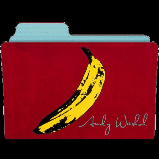 иконка папка, винтаж, винтажная папка, банан,