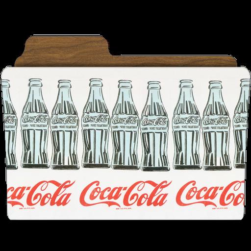 иконки папка, кока кола, coca cola, винтаж, винтажная папка,