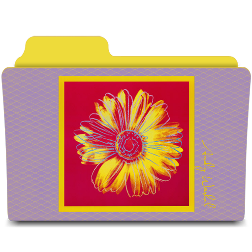 иконка винтажная папка, цветок, винтаж, папка,