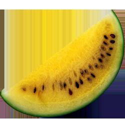 иконки желтый арбуз, watermelon,