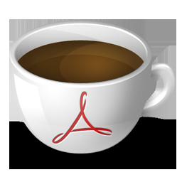 иконки acrobat, coffee, acrobat,