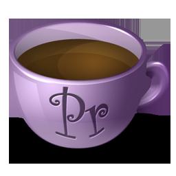 иконка premiere, coffee,