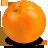 иконка апельсин, цитрусовые, еда,