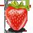 иконки клубника, ягода, ягоды, еда,