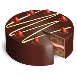 иконка шоколадный торт, cake,