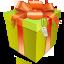 иконки подарок, подарочная коробка, gift, box,
