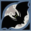 иконки летучая мышь, хэллоуин, bat,