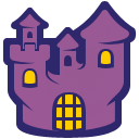 иконка дом, замок, хэллоуин, home,