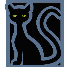 иконки кот, черный кот, черная кошка, хэллоуин, cat,