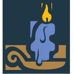 иконка свеча, свечка, candle,