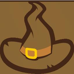 иконки шляпа, ведьма, хэллоуин, hat,