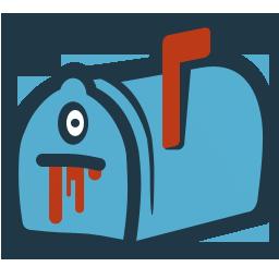 иконки письмо, почтовый ящик, хэллоуин, mail,