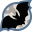 иконка летучая мышь, хэллоуин, bat,